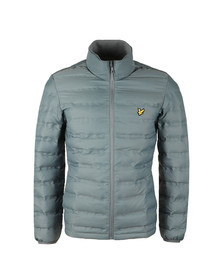 Lyle and Scott Mens Blue Wadded Funnel Neck Jacket
