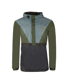 Lyle and Scott Mens Green Showerproof Jacket