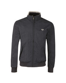 Fred Perry Mens Blue Marl Brentham Jacket