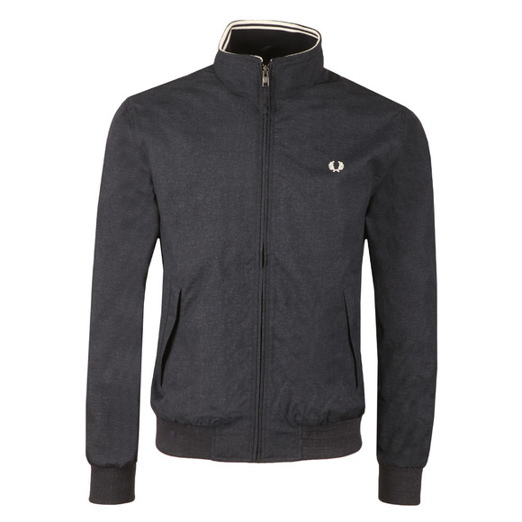 Fred Perry Mens Blue Marl Brentham Jacket main image