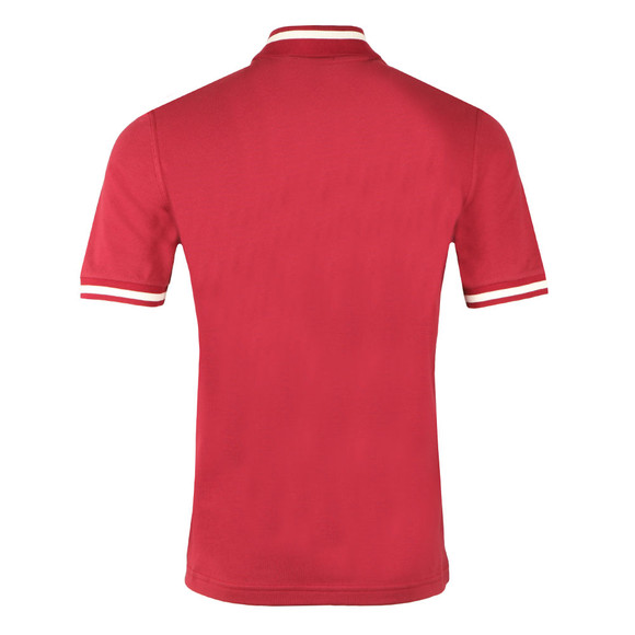 Fred Perry (Reissues) Mens Red S/S Single Tipped Polo main image