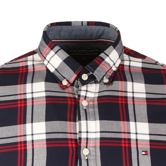Tommy Hilfiger Mens Multicoloured L/S Check Shirt main image