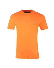 Lyle and Scott Mens Orange S/S T-Shirt