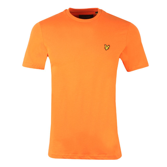 Lyle and Scott Mens Orange S/S T-Shirt main image