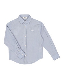 Boss Boys Blue J2500 Stripe Shirt