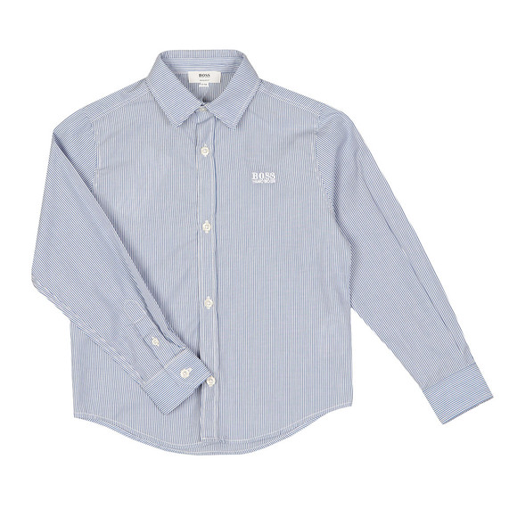 BOSS Bodywear Boys Blue J2500 Stripe Shirt main image