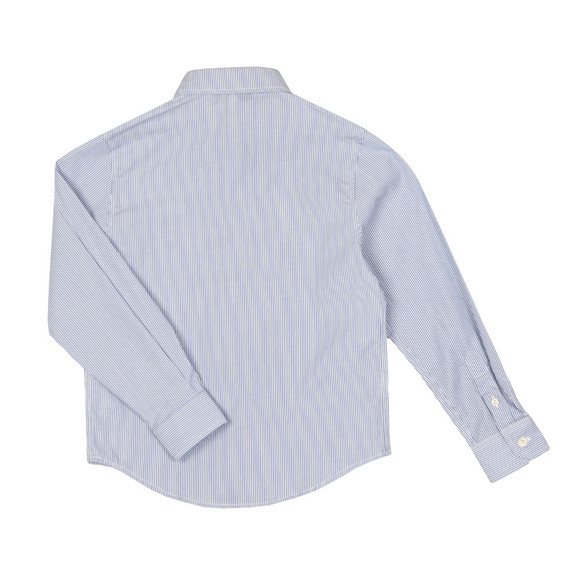Boss Boys Blue J2500 Stripe Shirt main image