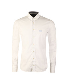 Boss Mens White Epreppy Shirt