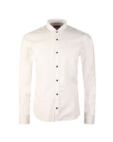 Hugo Mens White Ero-3 Plain Shirt