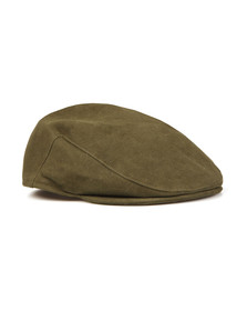 Barbour Lifestyle Mens Green Moleskin Cap