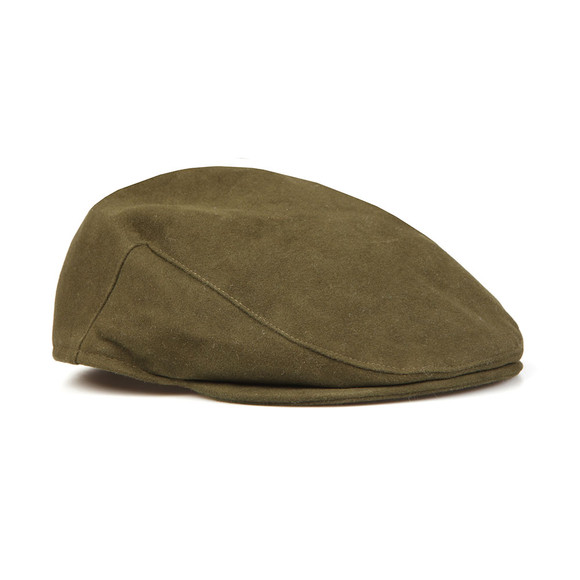 Barbour Lifestyle Mens Green Moleskin Cap main image