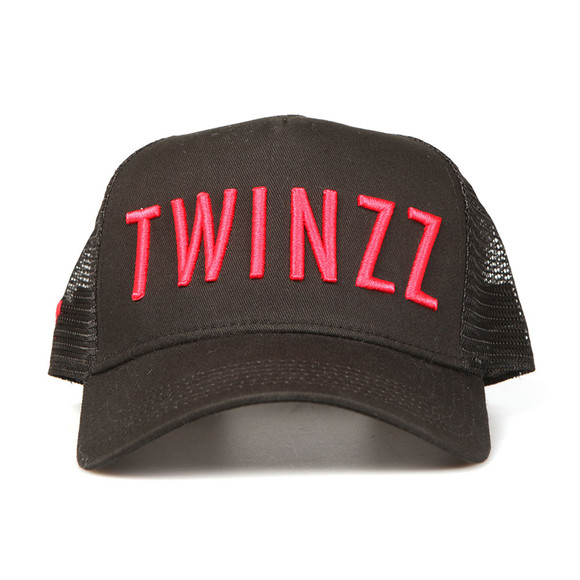 Twinzz Mens Black Mesh Trucker Cap main image