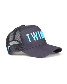 Twinzz Mens Blue Mesh Trucker Cap