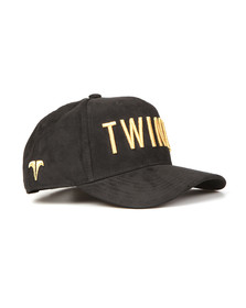 Twinzz Mens Black 3D Trucker Cap