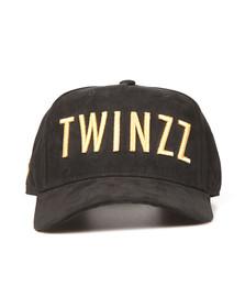 Twinzz Mens Black 3D Trucker Cap