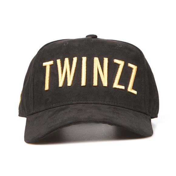 Twinzz Mens Black 3D Trucker Cap main image