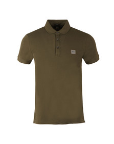 Boss Mens Green Passenger Polo Shirt