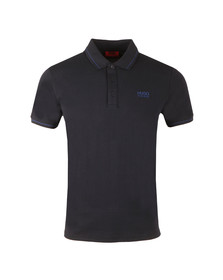 Hugo Mens Blue Daruso Polo Shirt