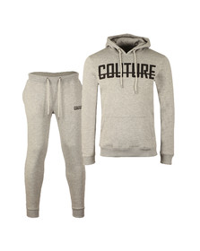 Fresh Couture Mens Grey Overhead Full Tracksuit