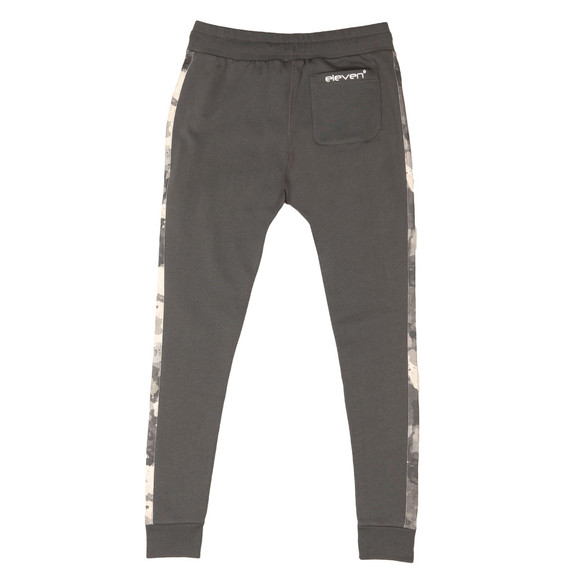 Eleven Degrees Mens Grey Printed Joggers main image