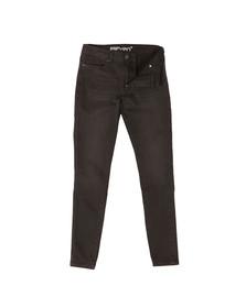 Eleven Degrees Mens Black Skinny Jeans