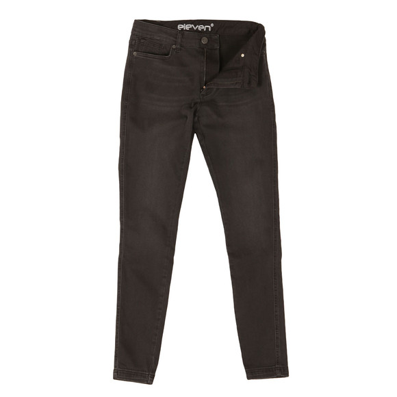 Eleven Degrees Mens Black Skinny Jeans main image