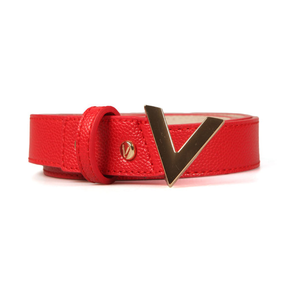 Valentino by Mario Womens Red Divina Belt main image