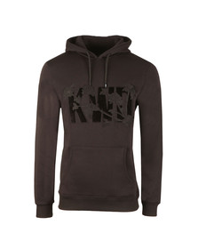 Kings Will Dream Mens Black Palmdale Overhead Hoody