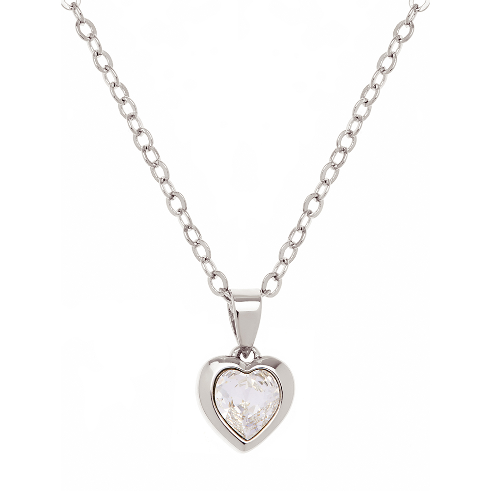 Hannela Crystal Heart Pendant main image