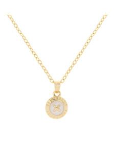 Ted Baker Womens Gold Elvina Enamel Mini Button Pendant