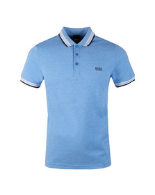 Boss Mens Blue Paddy Polo Shirt