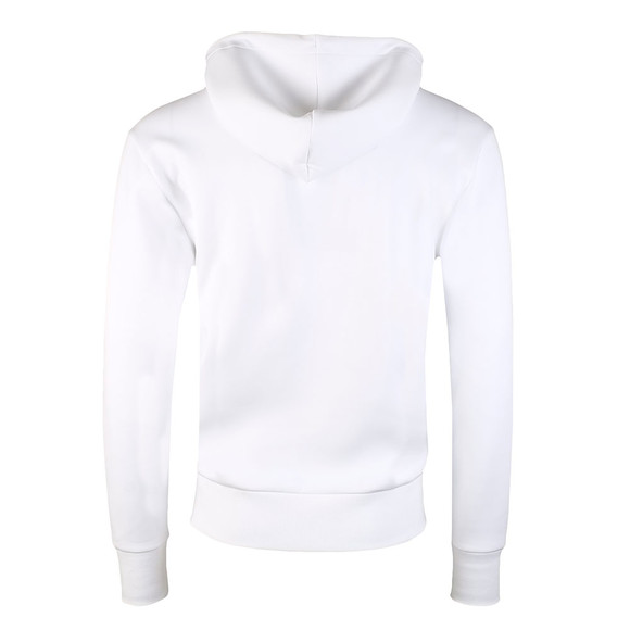 BOSS Mens White Athleisure Sly Overhead Hoody main image