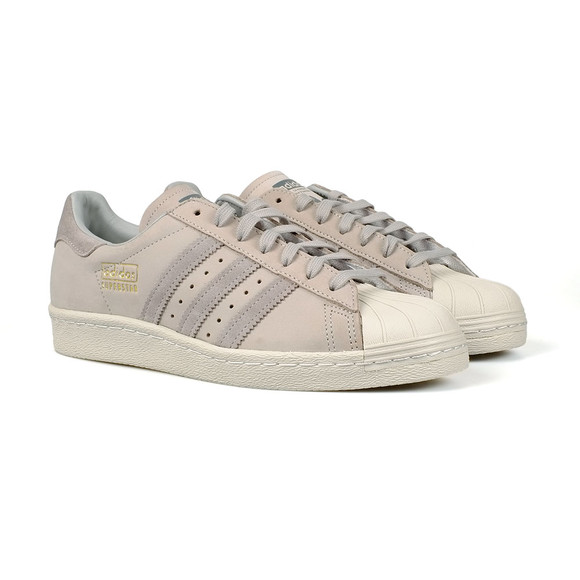 adidas Originals Mens Grey Superstar Trainer main image