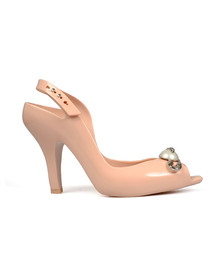 Vivienne Westwood Anglomania X Melissa Womens Pink Lady Dragon 19 Pin Heels