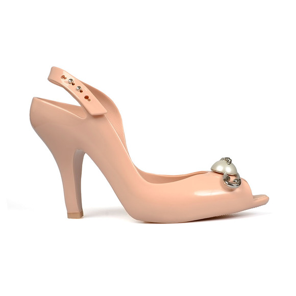 Vivienne Westwood Anglomania X Melissa Womens Pink Lady Dragon 19 Pin Heels main image