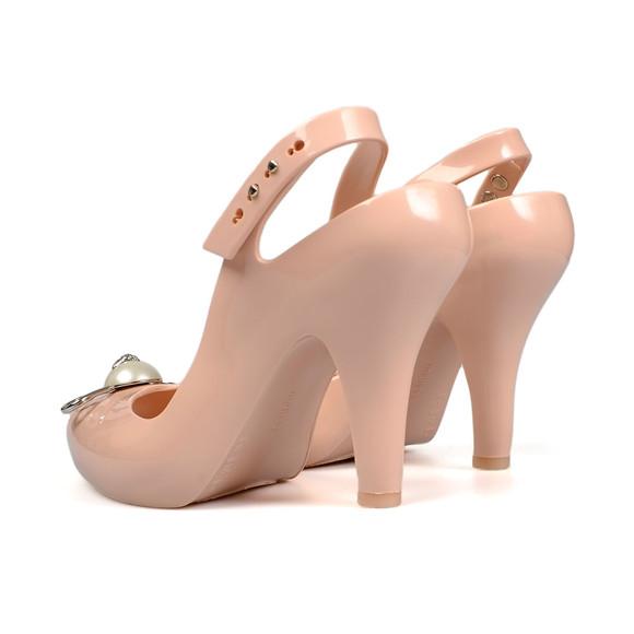 Vivienne Westwood Anglomania X Melissa Womens Pink Lady Dragon 19 Pin Heels main image
