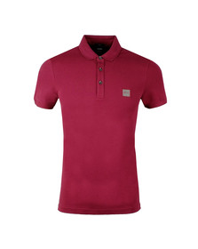Boss Mens Red Passenger Polo Shirt