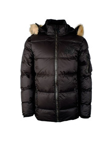 Kings Will Dream Mens Black Trayer Puffer Packet