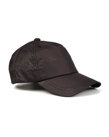 Emporio Armani Mens Black Small Logo Nylon Cap