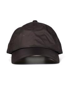 Emporio Armani Mens Black Small Logo Nylon Cap
