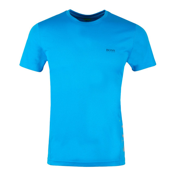 BOSS Mens Blue Athleisure TL-Tech T Shirt