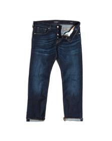 Scotch & Soda Mens Blue Ralston Slim Jean