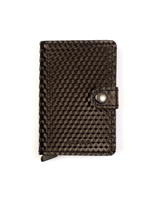 Secrid Mens Black Mini Cubic Wallet