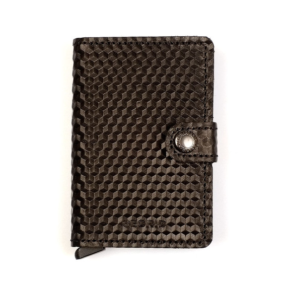 Secrid Mens Black Mini Cubic Wallet main image
