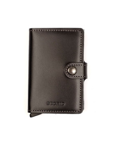 Secrid Mens Black Mini Original Wallet