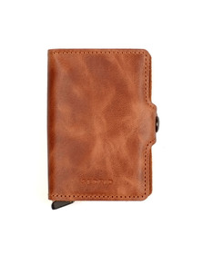 Secrid Mens Brown Vintage Twin Wallet
