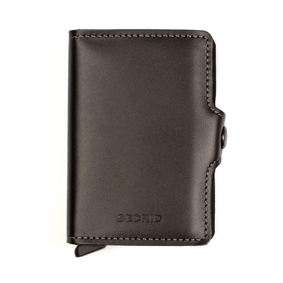 Secrid Mens Black Original Twin Wallet