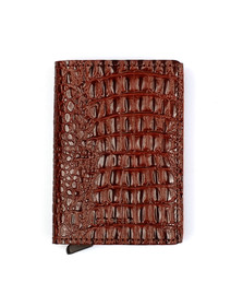 Secrid Mens Brown Slim Nile Wallet