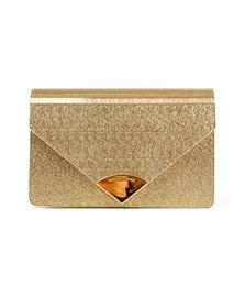 Michael Kors Womens Gold Barbara Handbag