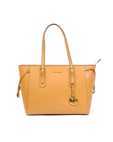 Michael Kors Womens Brown Voyager Mid Tote